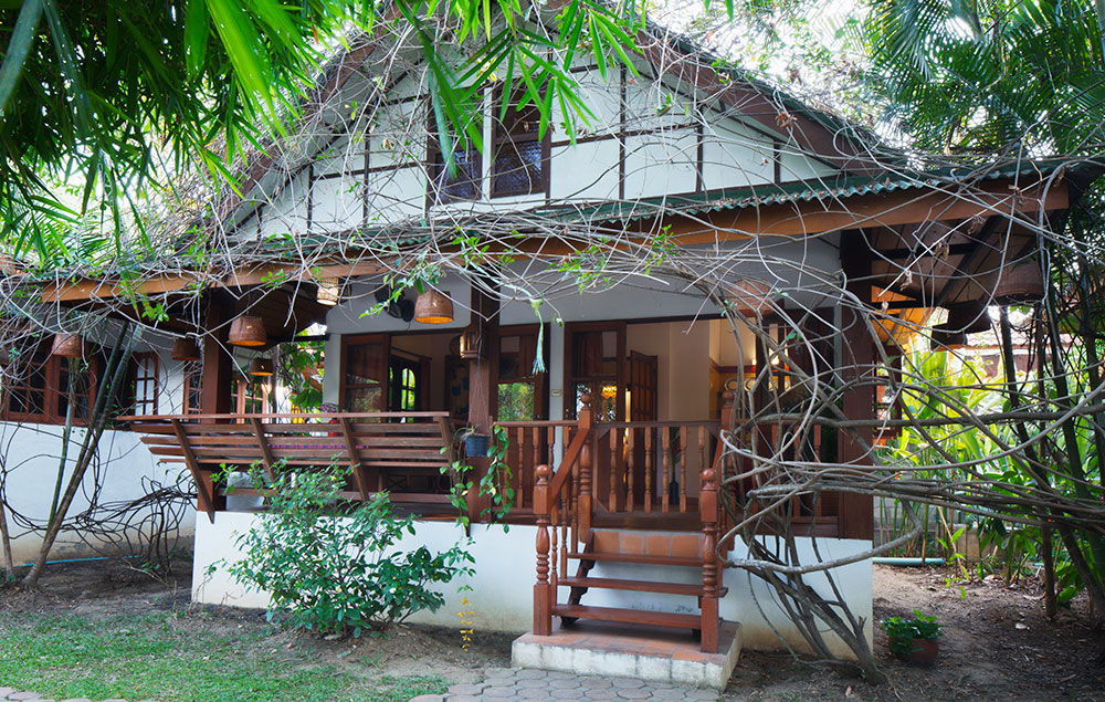 Bird of paradise, Deluxe double room, Secret Garden, Chiang Mai, Thailand