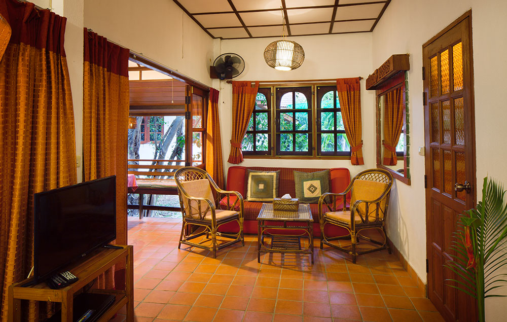 Jasmin, Deluxe double room, Secret Garden, Chiang Mai, Thailand