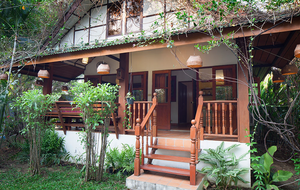 Kingfisher, Deluxe double room, Secret Garden, Chiang Mai, Thailand